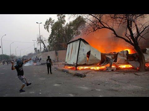 Irak: Schwere Unruhen im Südirak bei Protesten