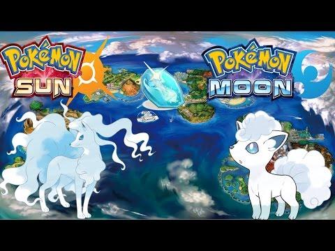 Pokemon Sun & Moon The Ice Stone Confirmed!