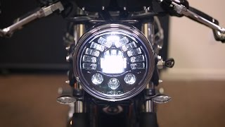 10. Triumph Bonneville and Thruxton LED Upgrade Installation