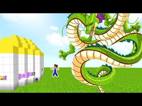 APOCALIPSIS DE DRAGON SHENRON EN MINECRAFT - RETO DE LA BASE VS DRAGON BALL SUPER EN MINECRAFT
