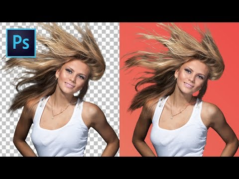 Hair cutting - (5 TIPS & TRICKS) How to Cut Out Hair in Photoshop!