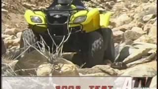 7. ATV Television - 2002 Suzuki Ozark Test
