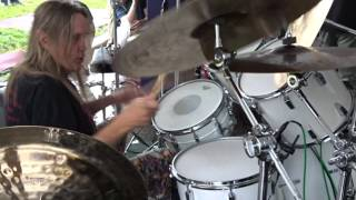 Nicko Mcbrain performing Speed Of Light at Rock N Roll Ribs Anniversary Party Dec 2015. Love going to the anniversary party ...