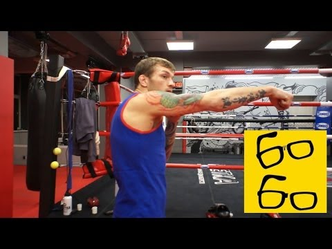 \Двойка\ тебе от Басынина Как правильно бить руками и поставить нокаутирующий удар (Тайский бокс) - DomaVideo.Ru