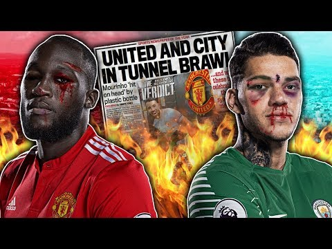 Video: BREAKING: Manchester United & City Players To Face Bans For Derby Day Fight?! | W&L