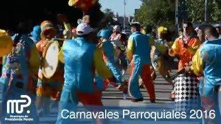 Carnavales Parroquiales 2016 - Guernica, Presidente Perón (HD)