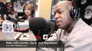 Birdman being interviewed talking about Jay-Z and making millions