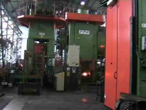 Complete automatic forging steel line
