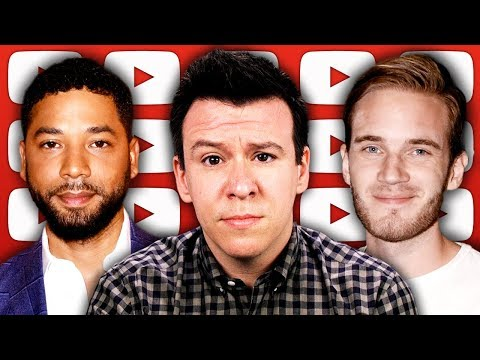 The Jussie Smollett Scandal's New Twists & Corruption Accusations, PewDiePie, & Article 13