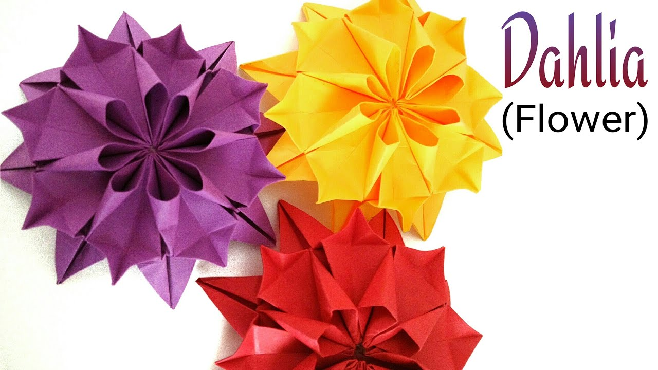Flowers paperfolds origami arts and crafts mightylinksfo