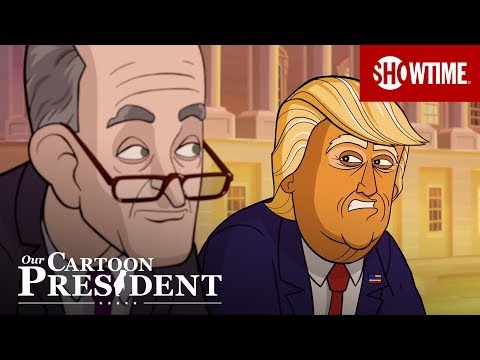 'you Sure Are A Chatterbox' Ep. 11 Official Clip | Our Cartoon President | Showtime