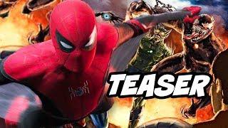 Spider-Man Morbius Teaser - Sinister Six Venom Easter Eggs Breakdown
