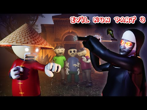 Evil Nun Horror Story Part 3 | Gulli Bulli Adventure | 3d animation | Zombies stories