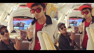Dhanush and Anirudh enroute London for 9th Vijay Awards curtain Raiser event