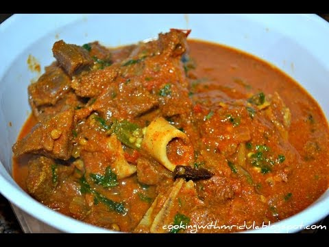 Andhra Mutton Curry – Mutton Pulusu w/ English Subtitiles