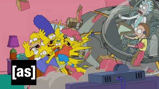 Download Youtube: Simpsons Couch Gag | Rick and Morty | Adult Swim