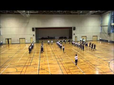 『佐久平マーチングバンド発表会』 塩田中学校 吹奏楽部 取材映像