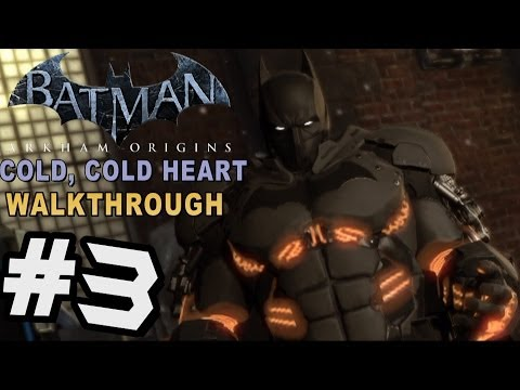 cold - A Freeze is coming in Batman Arkham Origins Cold Cold Heart DLC. Batman Vs Mr. Freeze in a Heart of Ice themed Story DLC for Batman Arkham Origins. XE Bat Suit & Story DLC Gameplay, Impressions...