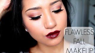 GRWM: Flawless Fall Makeup