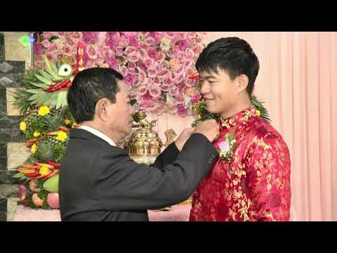 Đám cưới cổ truyền Việt Nam được hiện đại hóa