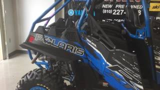 8. 2013 Polaris RZR 900 Jagged X Edition