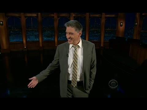 Late Late Show with Craig Ferguson 1/30/2012 Don Cheadle, Andrea Riseborough