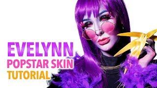 Video K/DA Evelynn Popstar Skin Cosplay Tutorial MP3, 3GP, MP4, WEBM, AVI, FLV November 2018