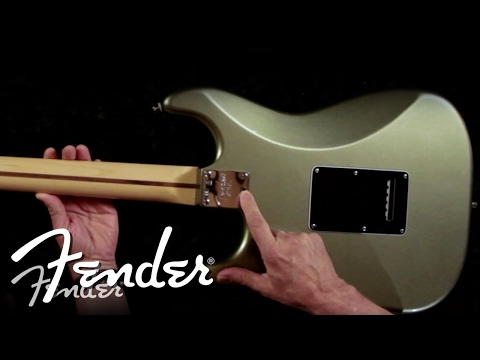 micro - In this Fender University video, Chris Fleming and John Dreyer discuss the Micro-Tilt™ feature, which allows you to adjust the pitch of the neck. This helps ...