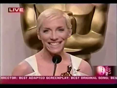 Annie Lennox - Post Oscars Interview