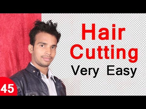 Very Easy Hair Cutting in Photoshop