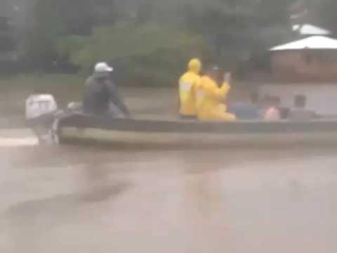 Autoridades atienden desborde de Río Wawashang, Laguna de Perlas