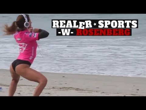 REALER SPORTS – Ep24 – Hot Surfer Twerking Stretch Routine