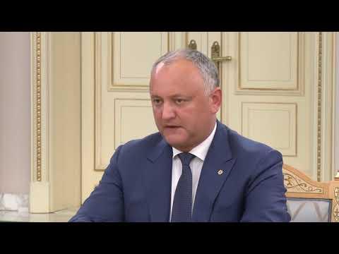 Președintele Republicii Moldova a avut o întrevedere cu Președintele Republicii Kazahstan