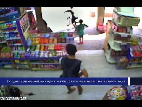 Видеозапись теракта в Иерусалиме - DomaVideo.Ru