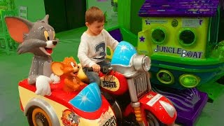 Play time for kids. Tom and Jerry motorcyle. Funny video from KIDS TOYS CHANNEL, tom and jerry, phim hoạt hình tom and jerry