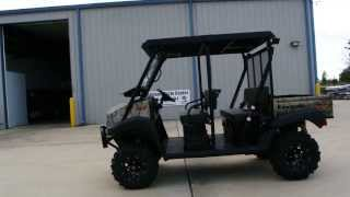 """4. 2014 Mule 4010 Trans Camo   Lift Kit, Steel Top, Windshield, Stereo, 26"""" ITP Black Water Evolution"""