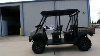 2. 2014 Mule 4010 Trans Camo   Lift Kit, Steel Top, Windshield, Stereo, 26