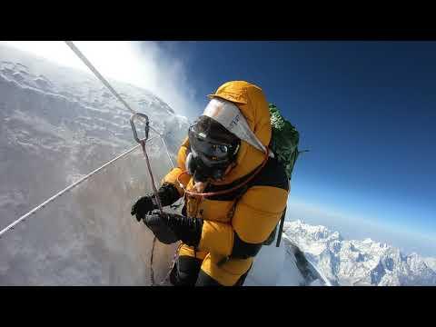Пробка на Эвересте наглядно