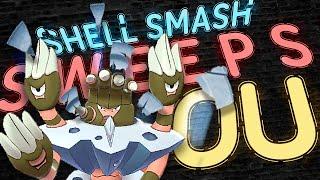SHELL SMASH BARBARACLE SWEEPS OU!  Pokemon Sword and Shield! Pokemon Showdown Live by PokeaimMD