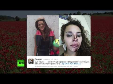 Шокирующие кадры из Европы