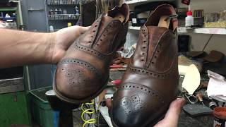 Video Allen Edmonds Shoe Restoration - Bedo's Leatherworks MP3, 3GP, MP4, WEBM, AVI, FLV Maret 2019