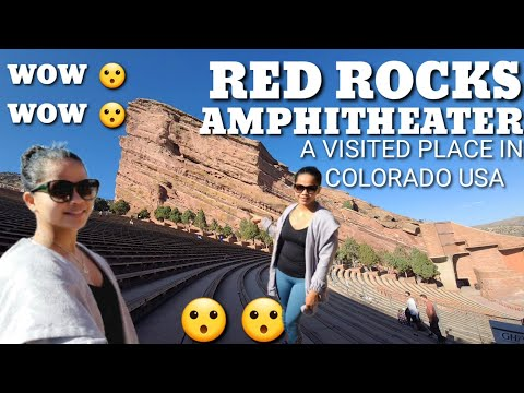 TRAVEL VLOG| RED ROCKS AMPHITHEATER COLORADO USA| SOBRANG GANDA