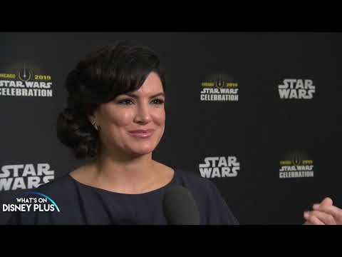 Gina Carano Discusses The Mandalorian At Star Wars Celebration