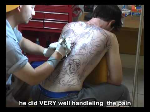 back tattoo - Brain Back Job In One Sitting, 6.5 hours, check it out and let me know what you thinks . more of my work on my facebook page www.facebook.com/fluntboy.