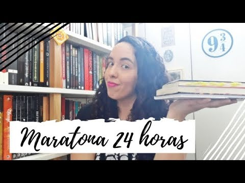 Vlog Maratona Literária 12H + 12H (3ª Edição) | Um Livro e Só