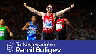 Back in 2007, Trans World Sport travelled to Azerbaijan to meet 17-year-old sprint sensation Ramil Guliyev.  Ten years later, he won the 200m title at the World Athletics Championships.Subscribe to Trans World Sport: http://goo.gl/5kBsQTWS features sports action from around the globe, including reports from the biggest international competitions, in-depth features on lesser-known sports and profiles of rising stars of the future.Follow us:http://twitter.com/TransWorldSportLike us on Facebook:http://www.facebook.com/transworldsport87
