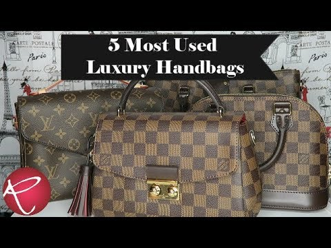 5 Most Used Luxury Handbags | Louis Vutton | Red Ruby Creates