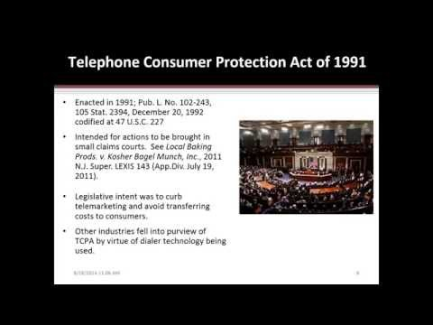 The TCPA on the Fringe â The HOT issues, the FCC petitions, dialers, and predicting