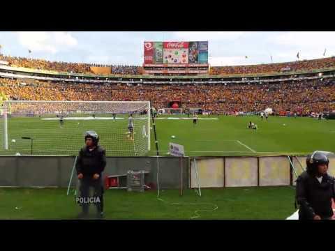 Clásico 105 Tigres vs Monterrey  - El ambiente previo al partido y el recibimiento - Libres y Lokos - Tigres