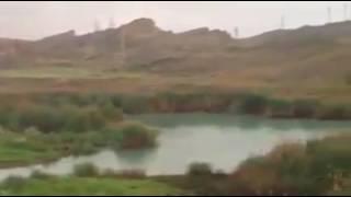 نهر ديالى حمرين روعة Hamrin Diyala River Video